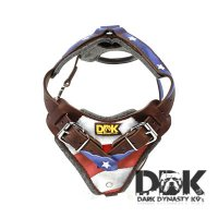 'I am General America' Leather Dog Harness